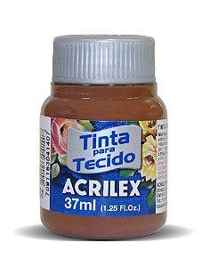 Tinta Tecido Fosca 37ml Marrom - Acrilex