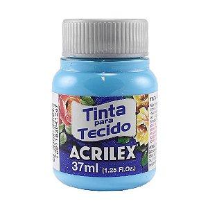 Tinta Tecido Fosca 37ml Azul Celeste - Acrilex