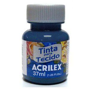 Tinta Tecido Fosca 37ml Azul Cobalto - Acrilex
