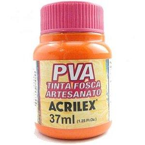 Tinta Fosca PVA Artesanato Laranja 37ml - Acrilex