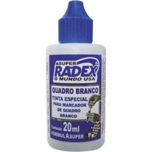 Tinta P/ Marcador De Quadro Branco Azul - Radex