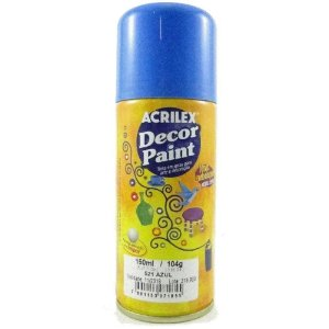Tinta Em Spray Decor Paint Azul - Acrilex