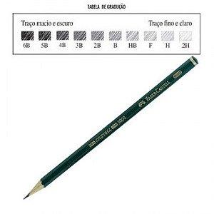 Lápis Preto Técnico 9000 - H - Faber Castell