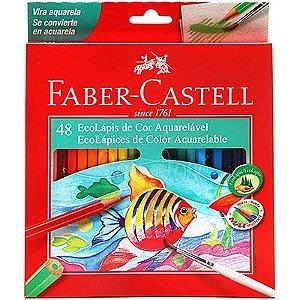 Lápis De Cor Aquarelável 48 Cores - Faber-Castell