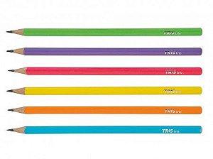 Lapis Preto Neon Tris