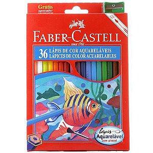 Lapis De Cor Aquarelavel 36 Cores Faber-Castell