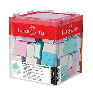 Borracha Branca Tons Pastel - Faber-Castell