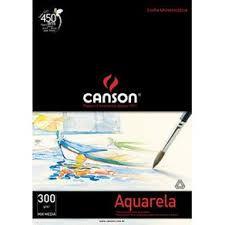 Bloco Para Aquarela Universitário 12fls A2 300g - Canson