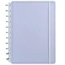 Caderno Lilás Pastel Médio - Caderno Inteligente