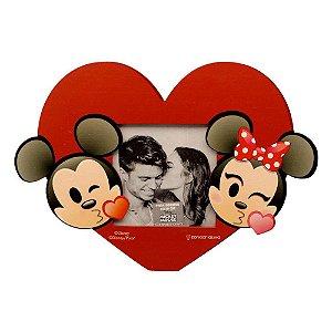 Porta Retrato Coração Mickey e Minnie - Zona Criativa