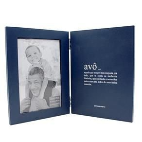 Livro Porta Retrato Avô - Zona Criativa