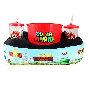 Kit Almofada Pipoca Super Mario - Zona Criativa