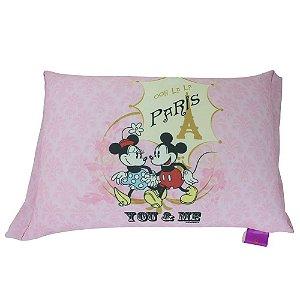 Almofada Mickey e Minnie Paris - Zona Criativa