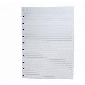 Refil Caderno Inteligente A5 Folhas Pautadas 90g