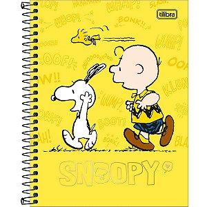 Caderno Colegial Snoopy 10M - Tilibra