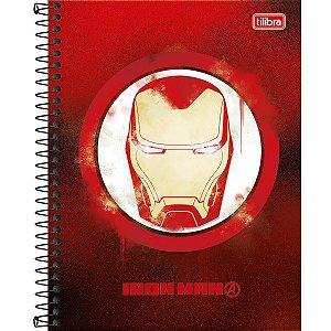 Caderno Colegial Avengers Herois 10M - Tilibra
