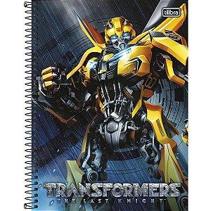Caderno Universitário Transformes 12M - Tilibra