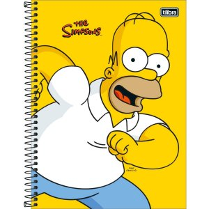Caderno Universitário Simpsons 12M - Tilibra