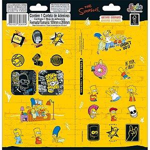 Adesivo Decorado Duplo Simpsons - Tilibra