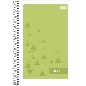Caderneta Espiral Lunix 96F - Tilibra