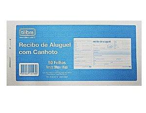 Recibo ALuguel C/Canhato 50F- Tilibra
