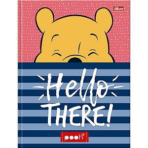 Caderno Brochura  1/4 Pooh 96F - Tilibra