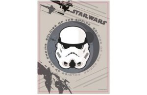 Quadro Metal Stormtrooper Star Wars - Zona Criativa