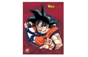 Quadro Metal Goku - Zona Criativa