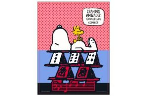 Quadro Metal Charlie Snoopy - Zona Criativa