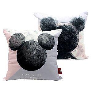 Almofada Mármore Mickey - Zona Criativa