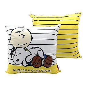 Almofada Motivacional Snoopy - Zona Criativa