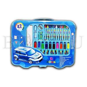 Kit Escolar 42pc Menino Estojo Ref.Mt42boy