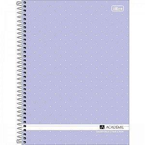 Caderno Universitário Quadriculado 0x7 - Tilibra