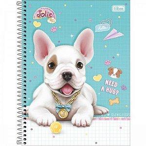 Caderno Universitário Espiral Jolie Pet - Tilibra