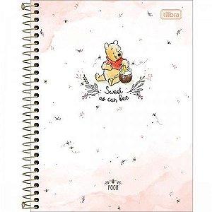 Caderno Colegial Pooh 10M - Tilibra