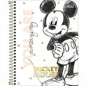 Caderno Colegial Mickey 10M - Tilibra