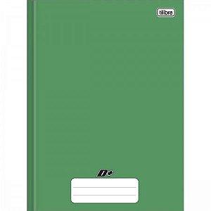 Caderno Brochura Universitario D+ Verde 48F - Tilibra