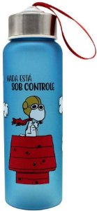 Garrafa C/ Alça Sob Controle Snoopy - Zona Criativa