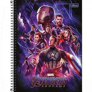 Caderno universitário avengers  20 matéria -Tilibra