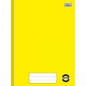 Caderno Brochura Amarelo C/ Margem - Tilibra