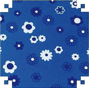 Eva Fantasia Floral Azul 40x60 - Vmp