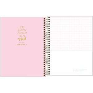 Agenda Planner Happy Rosa - Tilibra
