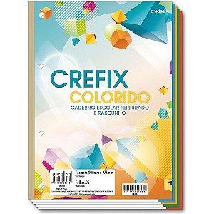 Folhas Perfuradas p/ Fichario 96 Fls Crefix - Credeal