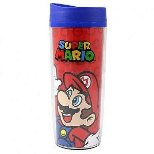 Copo Viagem Super Mario e Luigi - Zona Criativa