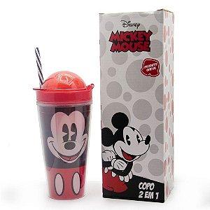 Copo Canudo 2 em 1 Mickey
