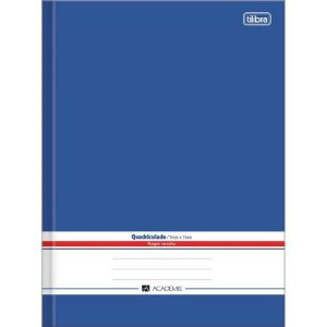 Caderno Brochura Quadriculado Acd - Tilibra
