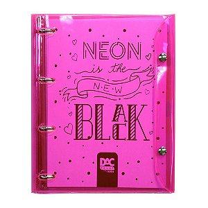 Caderno Argolado Color Bublbe Rosa - Dac