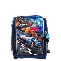 Lancheira Speed Car Pol  Azul - Santino