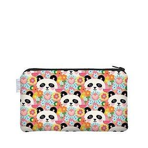 Necessaire Flat P Panda - Me encanta que te encanta