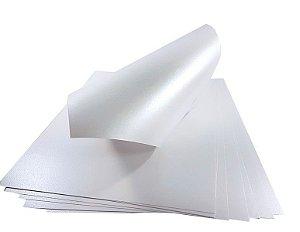 Papel Metalizado Branco A4 150g 15 Fls